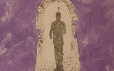 Destino 07                            Destino: Quale sarà il destino dell essere umano? Su una tavola di legno ho voluto creare un finto marmo immaginario dai colori istintivi di quel preciso momento. Da questa parete di fantasia l'immagine non nitida di un uomo che sta camminando verso il suo destino. Qualunque destino che avrà l'uomo la nostra unica salvezza sarà la mente(evidenziata nell'immagine in ombra)